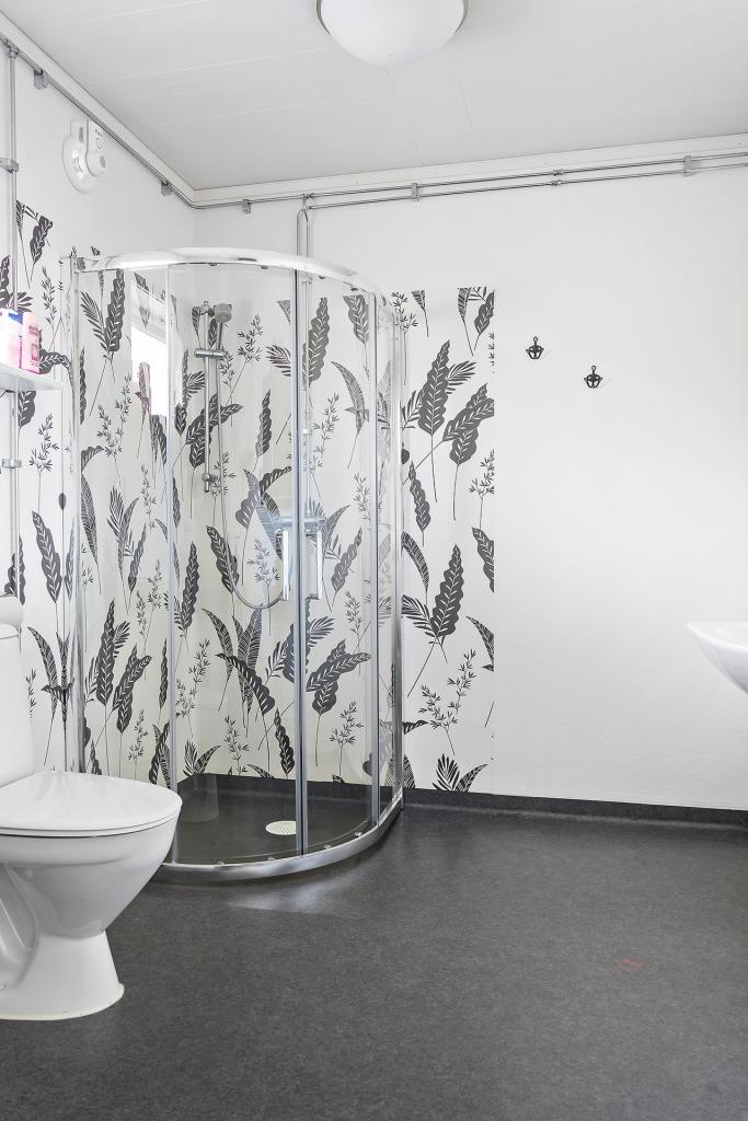Duschplats i badrum/tvättstuga