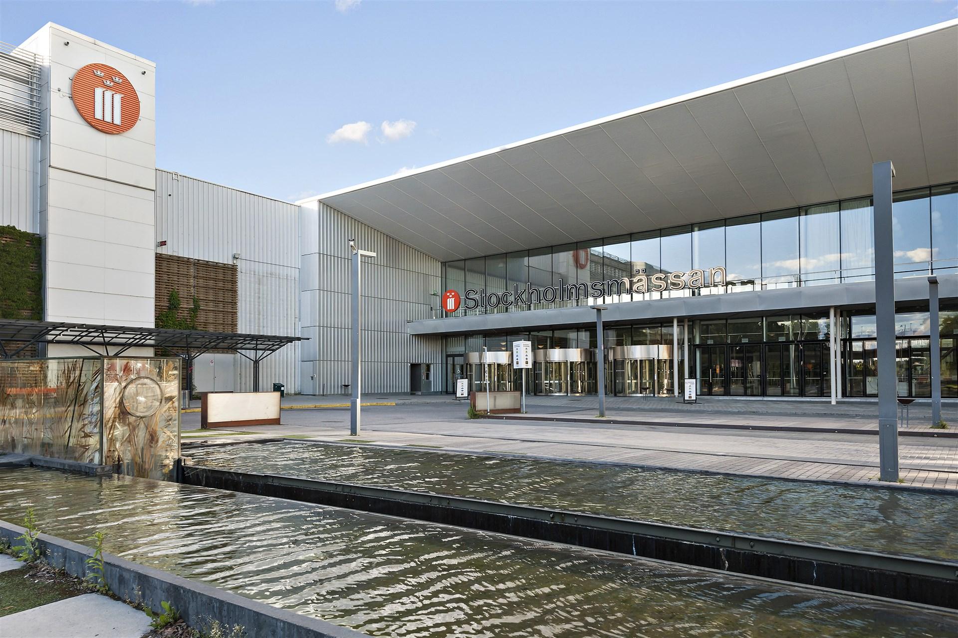 Nära till Stockholmsmässan och Rica Talk hotell med skön Skybar