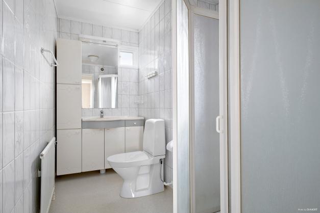 Fräscht badrum med dusch