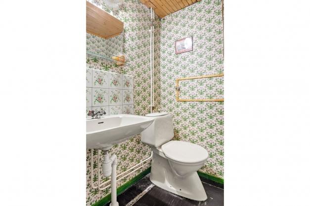 WC-rum i souterrängplan