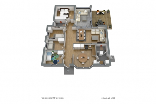 Planritning 3D