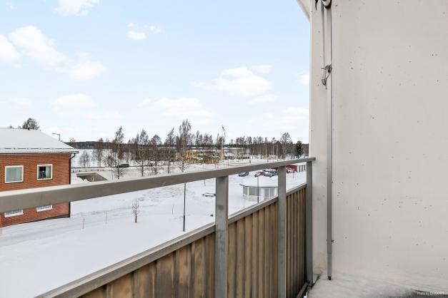 Utsikt mot Ursviksfjärden från balkongen