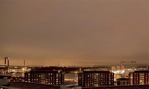 Magnifik utsikt över Göteborg