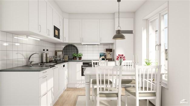 Kök i en 2:a Bilderna är illustrationer och att avvikelser kan förekomma.