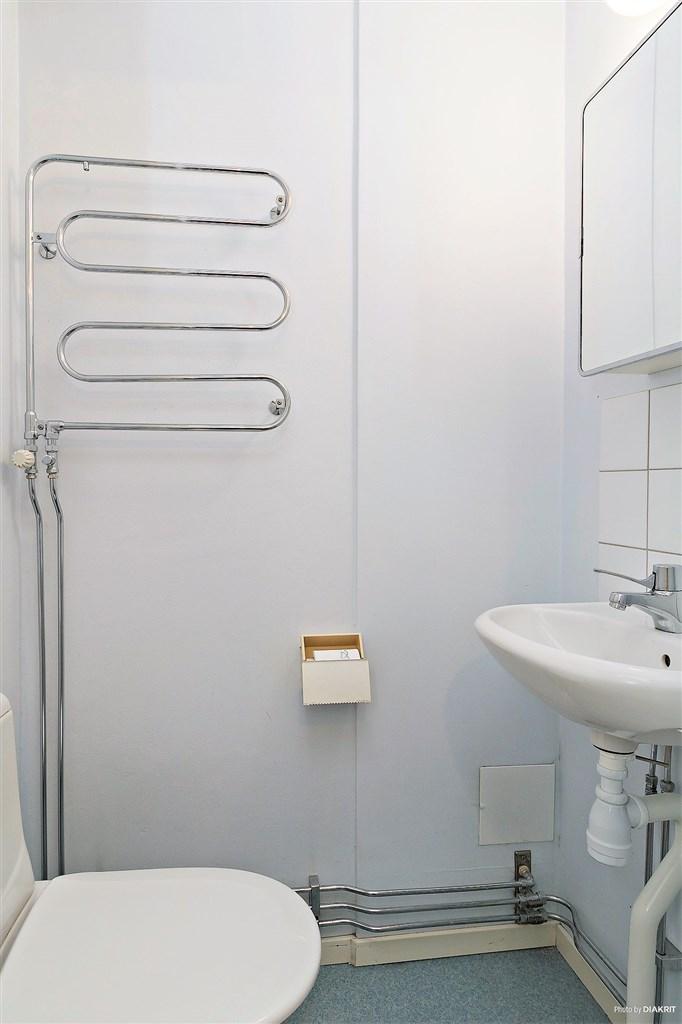 WC-rum intill inre hall.