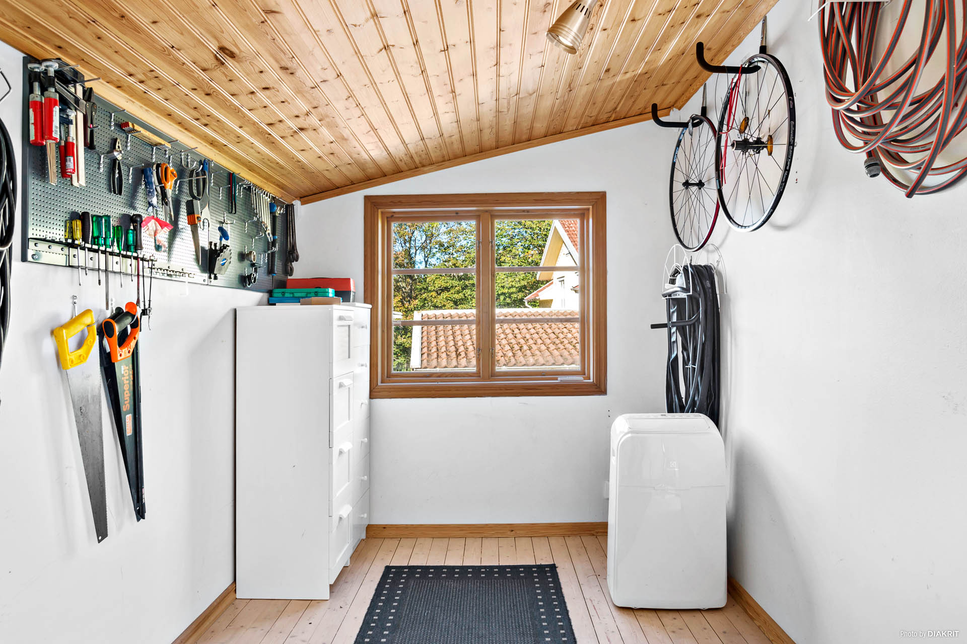 GÄSTSTUGA - Kombinerad gäststuga och arbetsrum med separat förråd