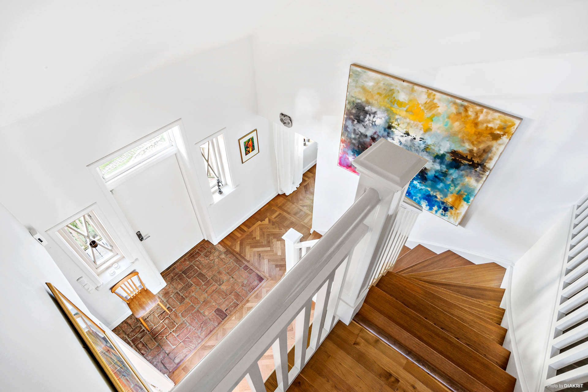 Välkommen upp till övervåningen!