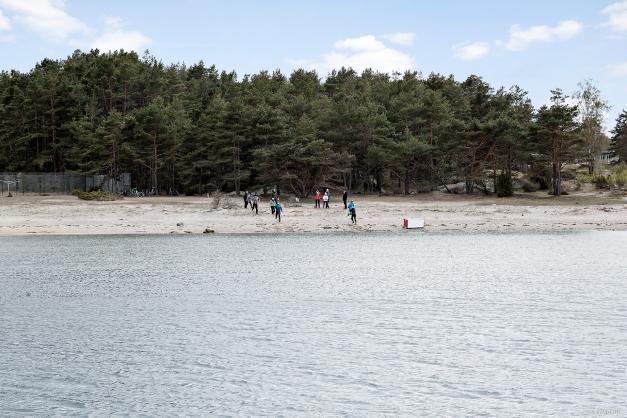 Kílesand, en strand att umgås på!