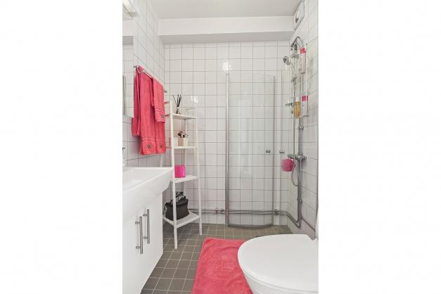 Renoverat och stambytt badrum