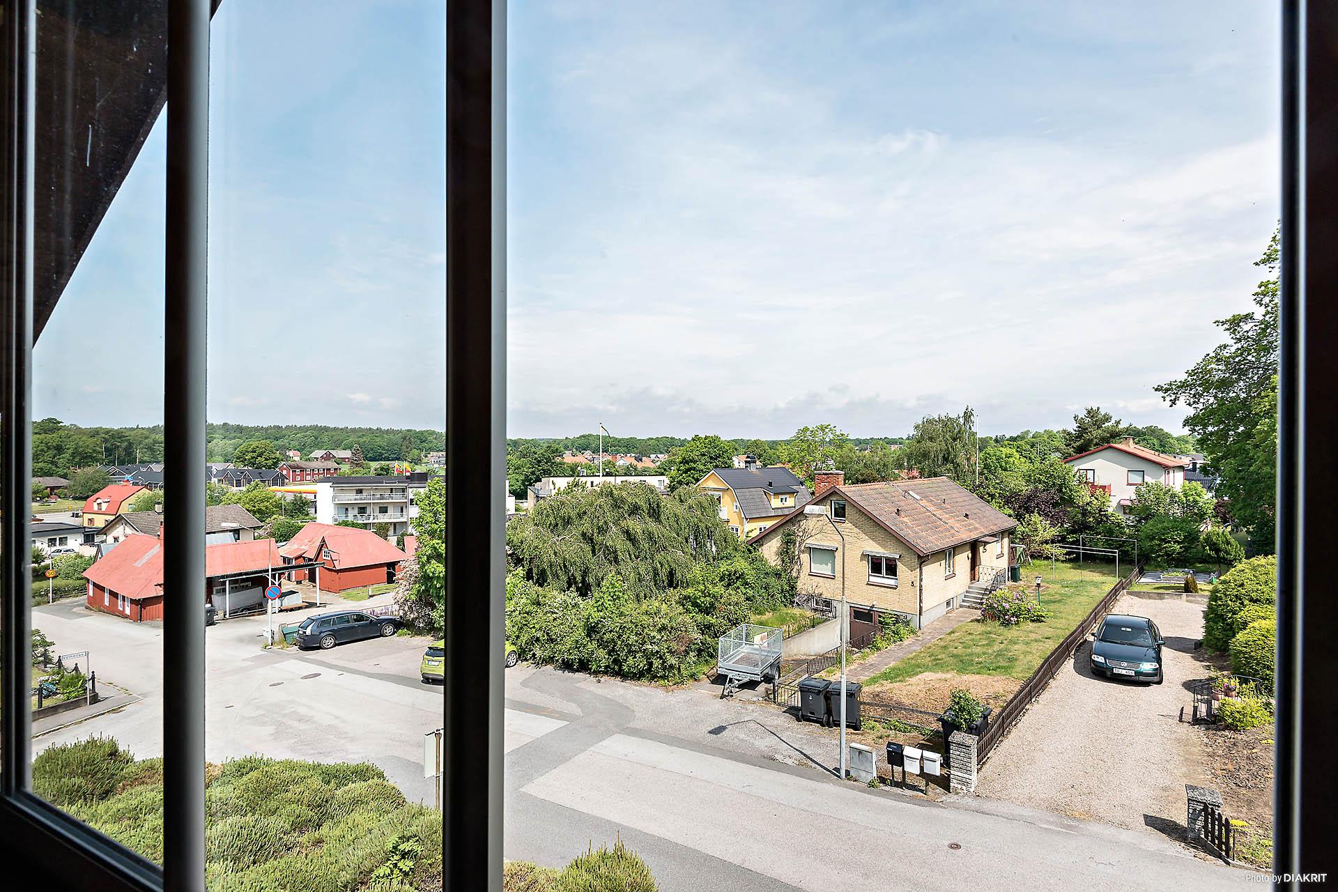 Utsikt från balkong!