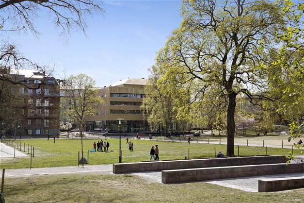 Vasaparken är en av många parker i området