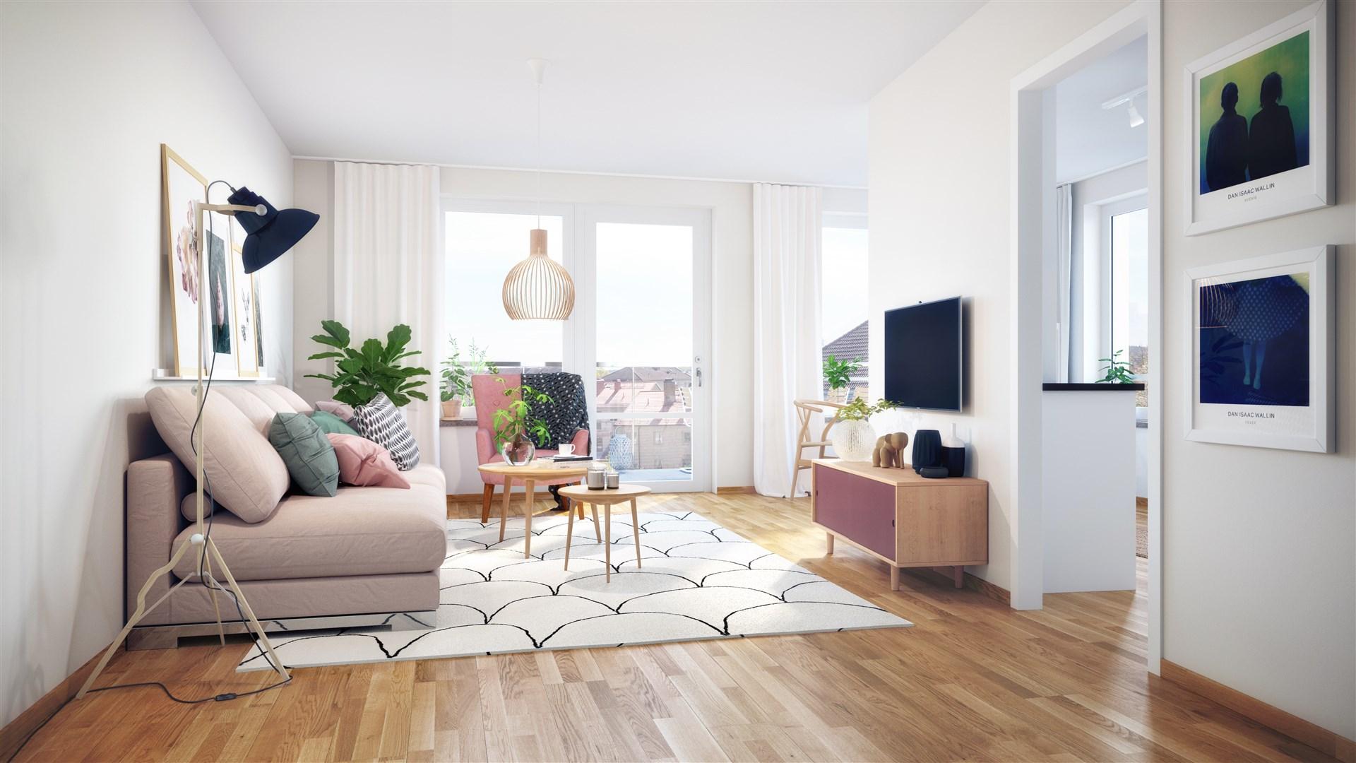 Exempelbild vardagsrum