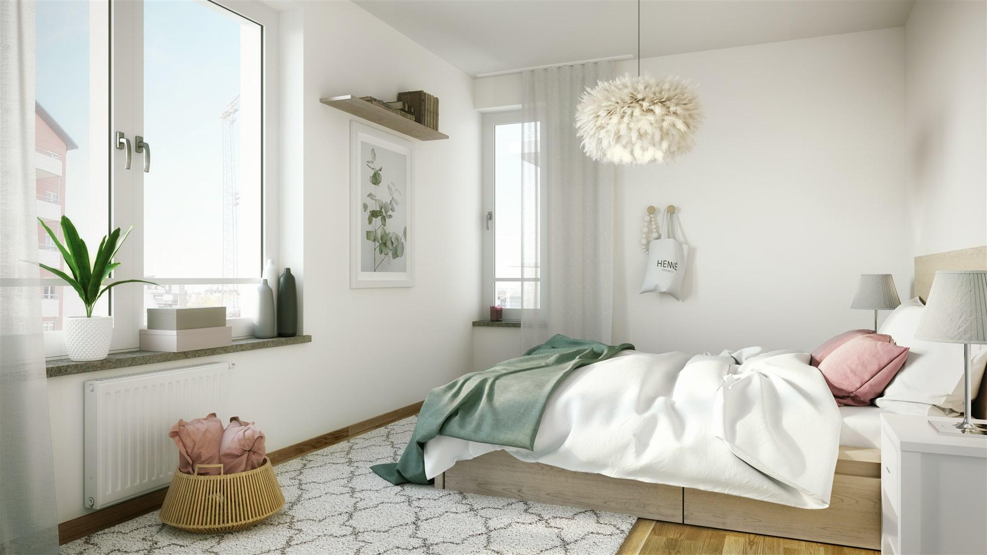 Exempelbild sovrum