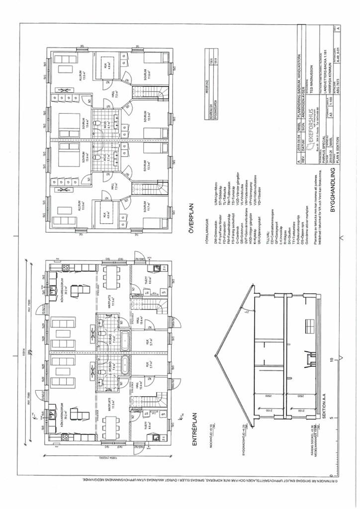 Bygglovsplanskiss, Carport, förråd och balkong är tillval