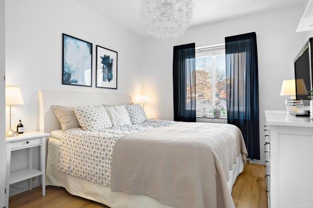Ljust och luftigt sovrum