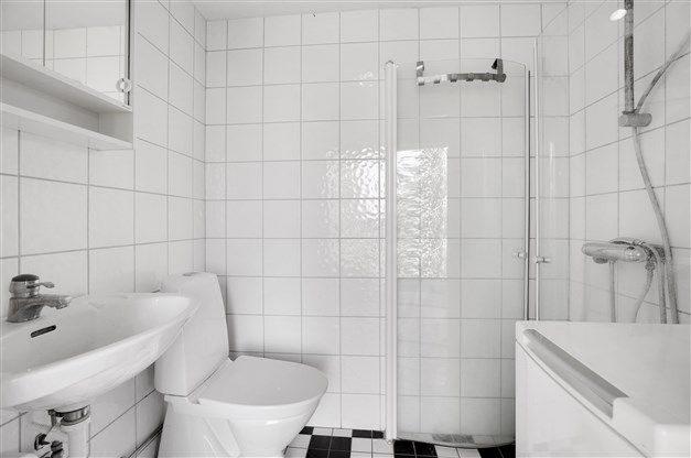 Duschrum i boendedel 2