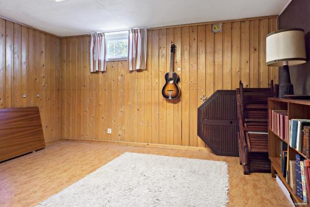 Hobbyrummet i källaren