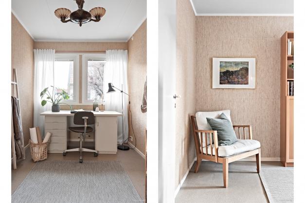 Sovrum 2 - perfekt som gästrum eller kontor.