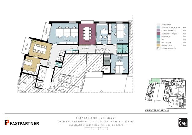 173 m²