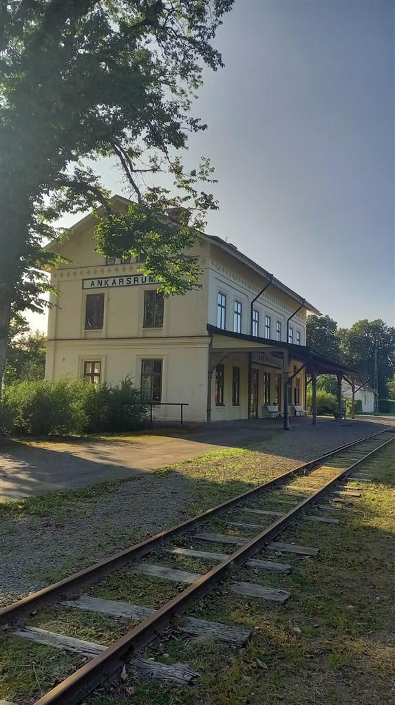 Fina gamla stationen.