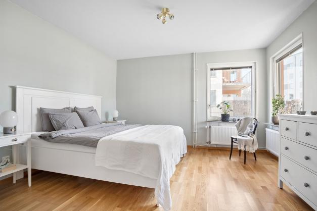 Rejält stort sovrum