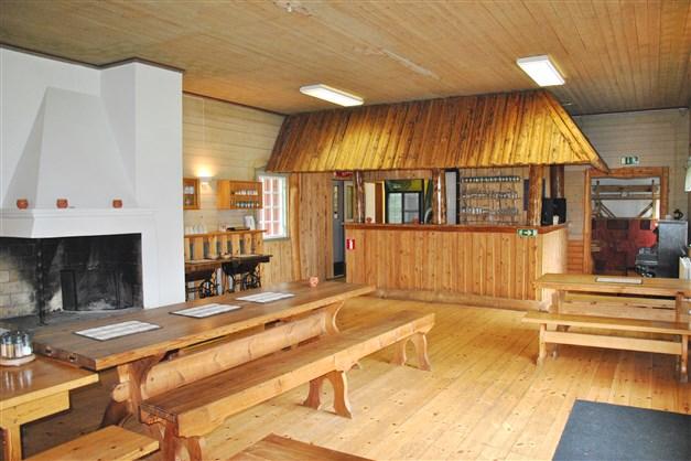 Del av pub och restaurang