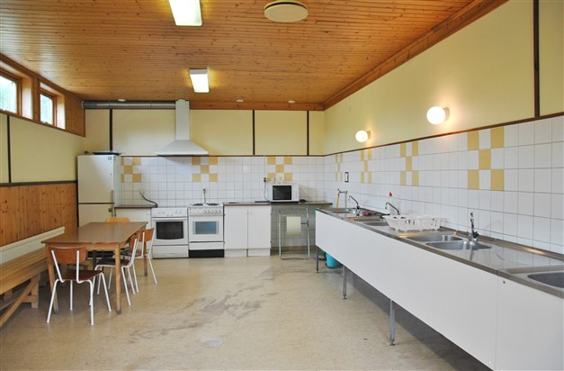 Matlagnings-/ diskmöjligheter, servicehuset