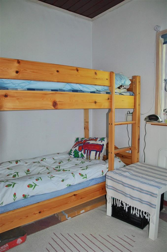 Sovrum med våningssäng