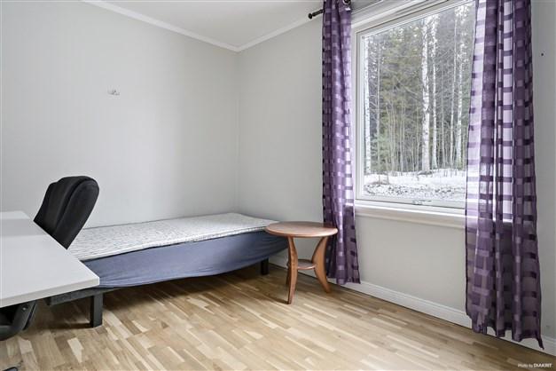 Sovrum i ombyggnad