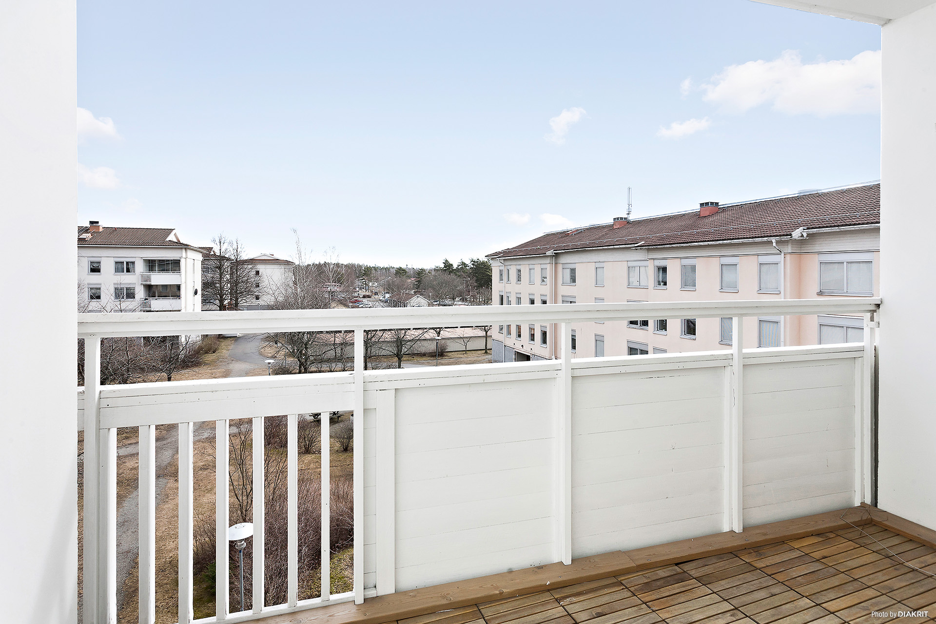 Stor balkong