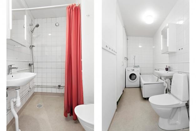 Två badrum