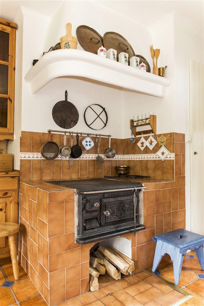 Vedspis i kök