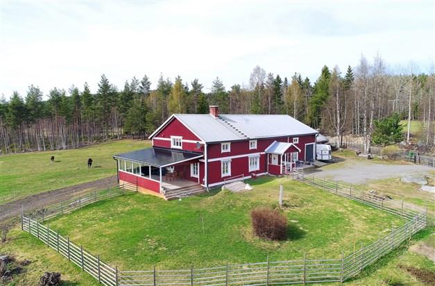 Välkommen till Söromberget 9 - en vackert belägen hästgård mittemellan Ljusdal och Järvsö!