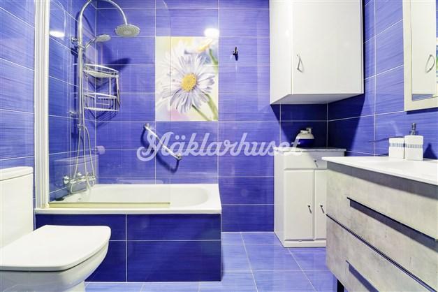 Nyligen renoverat badrum