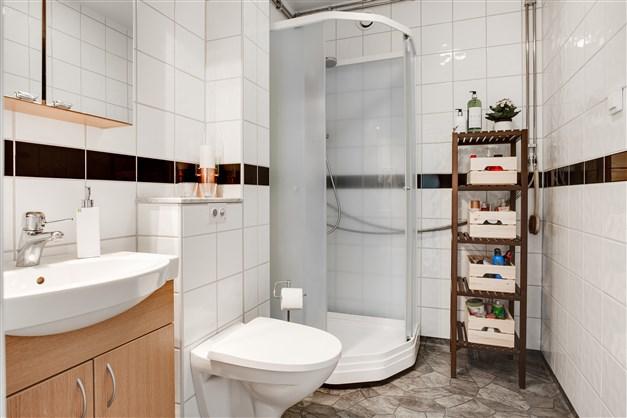 Dusch/wc med duschkabin (2019).