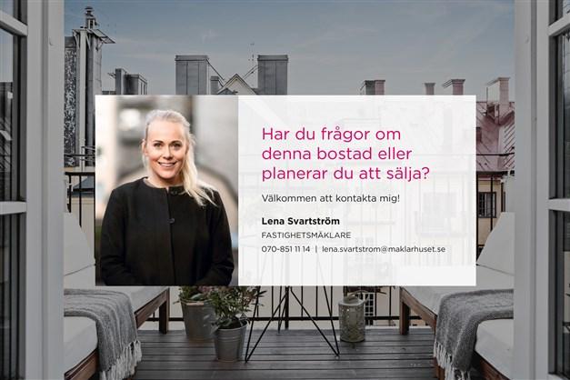 Ansvarig mäklare Lena Svartström