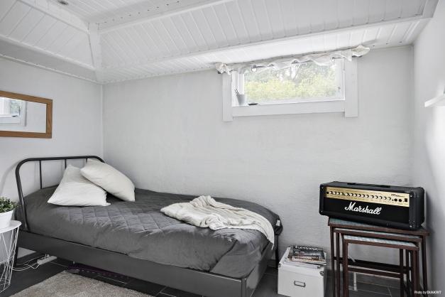 Kontor/sovrum på nedre plan