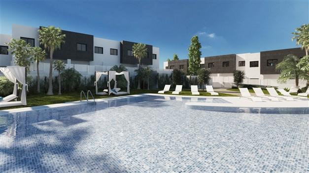 Illustrationsbild - poolområde