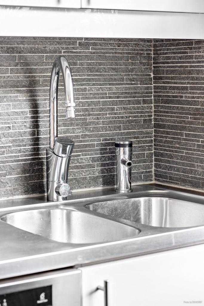 Detaljbild tapp för vatten och kolsyrat vatten- Entréplan