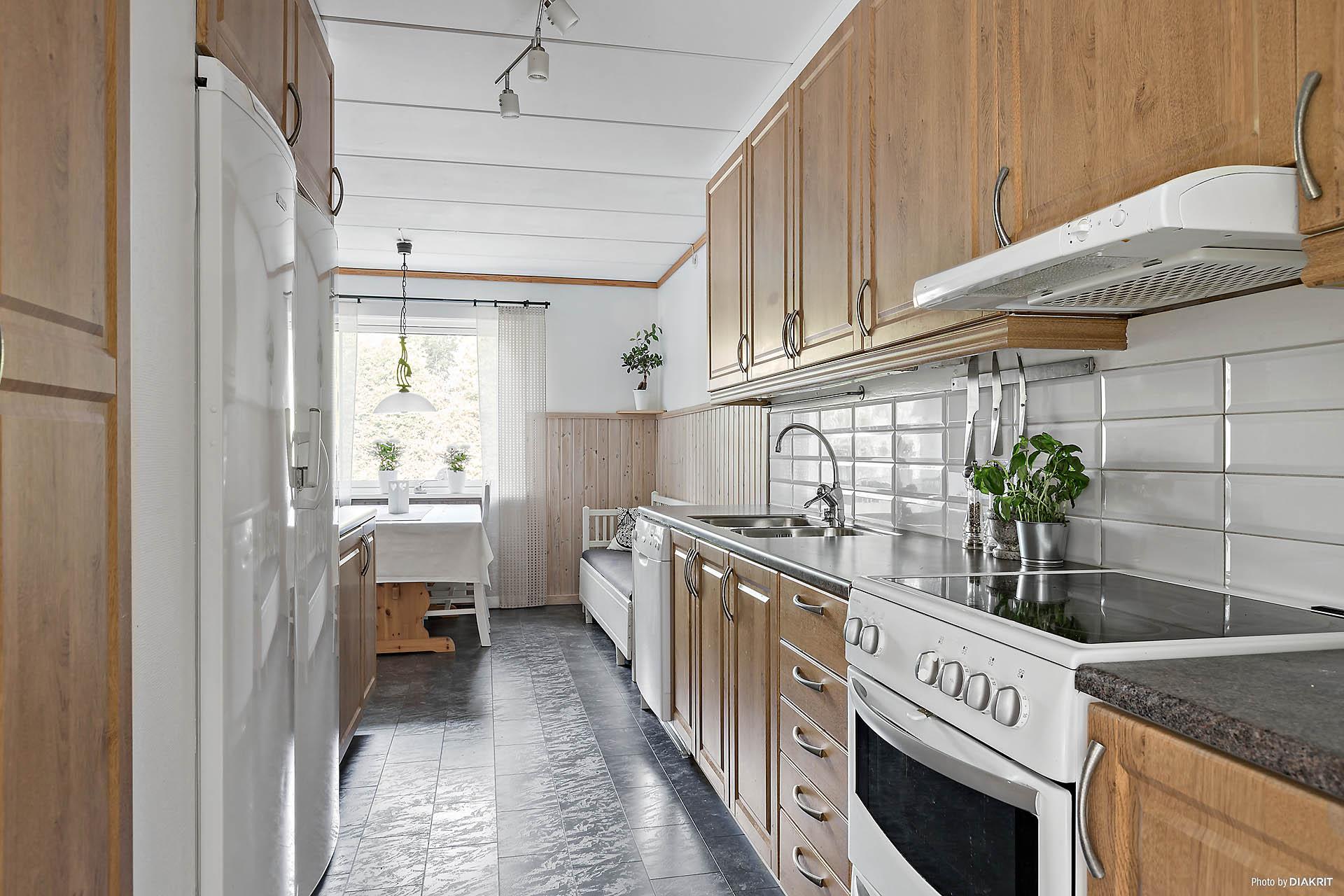 Kök - Vy från vardagsrum