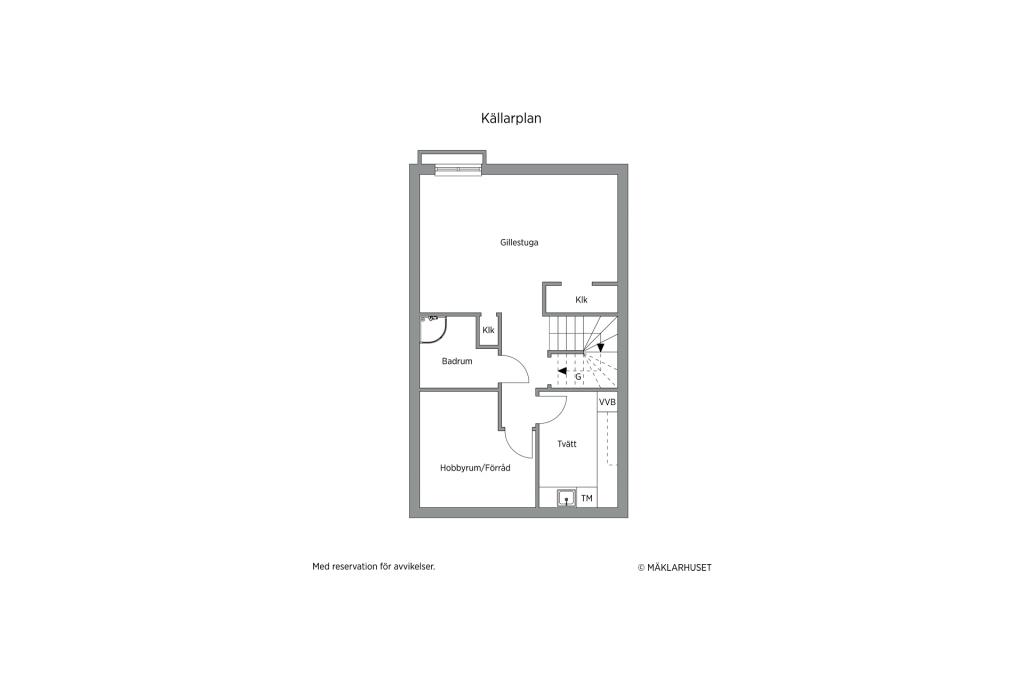 Planskiss - Källarplan