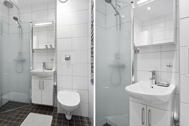 Stilrent renoverat badrum