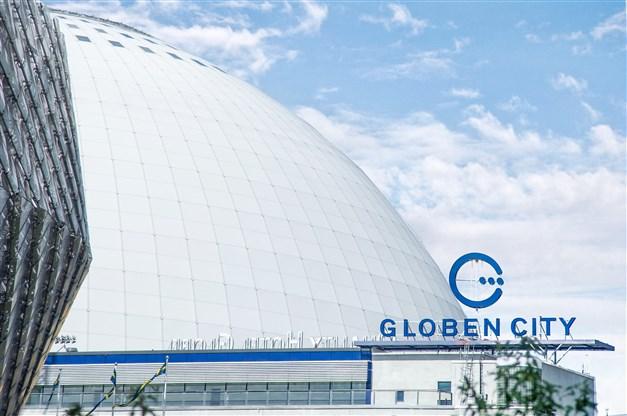 Klassiska Globen med shopping
