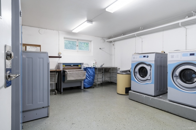 Fullt utrustad tvättstuga