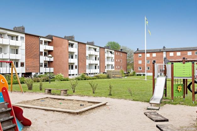 INNERGÅRD - Mysig innergård med lekplats