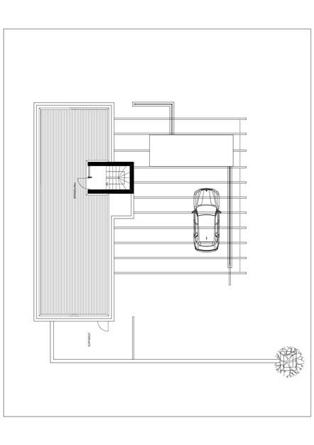 Etage +1. Takterrass.