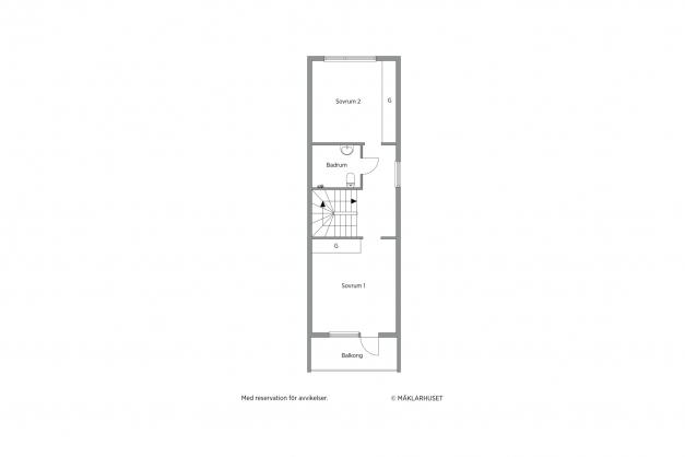 Skiss plan 3 - top floor
