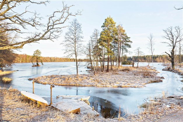 Områdesbild vintertid