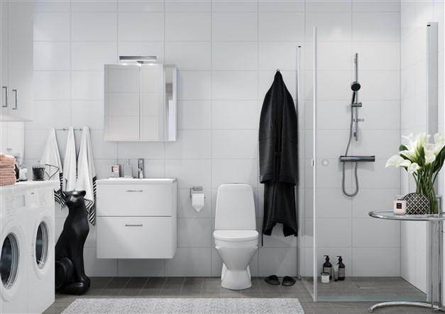 Illustrationsbild duschrum
