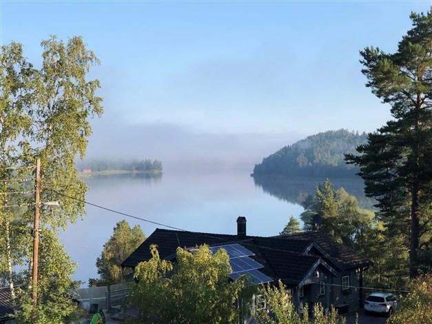 Säljarens bild, Garnsviken en sommarmorgon